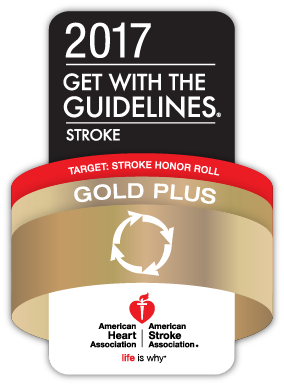Get with the Guidelines Stroke Gold Plus Recognition